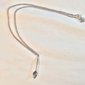 * 3 for $25*Vintage Silver Spoon Necklace 🥄